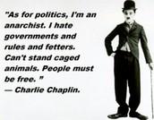 Chaplin's political view