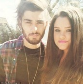 Zayn And His Older Sister