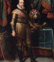 dit is maurits van oranje. hij was ook stadhouder.