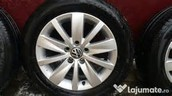 High performance tires and chrome hubcaps!