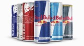 Red Bull offers lots of diffrent drinks