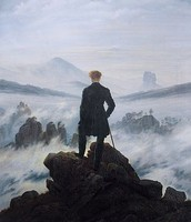 Wanderer Above The Sea of Fog (1818)