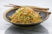 Deep fried rice