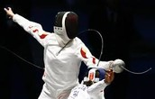 Epee fencing