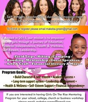 Girls on the rise mentoring Launch