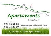 montsec apartments