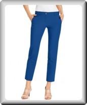los pantalones azules de marca Michael Kors