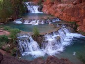 Beaver Falls in the Grand Canyon