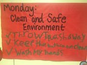 Today's Coordinated School Health Kick Off Week focus posted at Pillow. Thanks Coach!