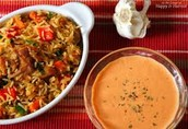 Rice Roasted Red Pepper