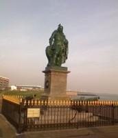 Standbeeld van Michiel de Ruyter.