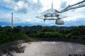 It has the world's largest telescope