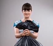 Trash Bag Lady