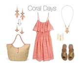 Coral is THE color of summer