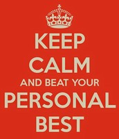 Beat Your Personal Best Month Challenge!