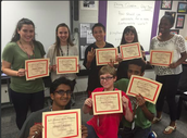 4th Period Prowess Awards 1st Six Weeks