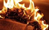 Any Time, Any Place, Burning Books