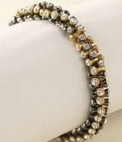 Vintage Twist Gold Bracelet