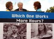 Which One Works More Hours?