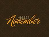 November Programming