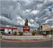 Monumento a la Guabina Chiquinquireña