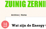 De Website van Zuinig Zernike (Zuidlaren)