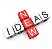 We need new ideas!