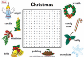 Religious and Secular Christmas Printable Worksheets