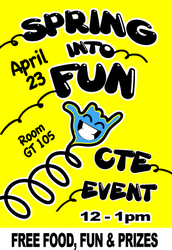 """Spring Into Fun"" on Thursday!"