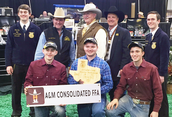 AMCHS FFA members win awards at Houston Livestock Show and Rodeo