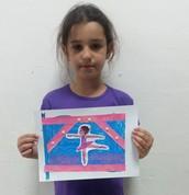נויה- דגל רקדנית