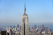 This shows what the Empire State Building looks like in the day.