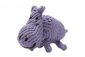 Hank The Hippo Rope Dog Toy..
