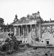 Reichstag nach dem zweiten Weltkrieg