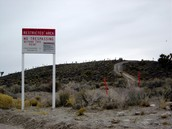 Border of Area 51