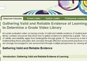 Video: Gathering valid and reliable evidence of learning