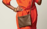 Lafayette Bag in brown or black.