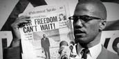 Malcolm X refused to sit and do nothing