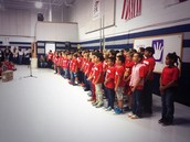 Choir Performs at Friday Assembly!