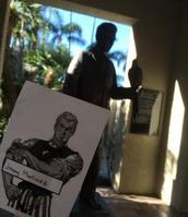 Arthur Miller statue