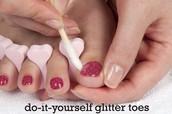 Glitter Nail Art Kit and Supplies : Cedar Hills