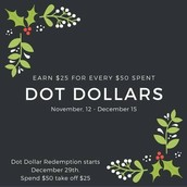 Dot Dollar Days Are Here!!