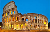 Who built the Colosseum?