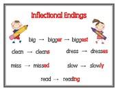Inflectual Endings