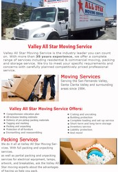 Northridge CA Moving Services