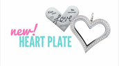 New Heart Plate!