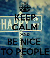Be nice and respectful!