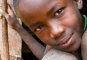 east African child
