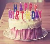 Birthdays !