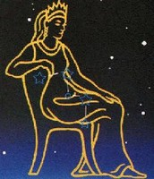 Cassiopeia on a Chair
